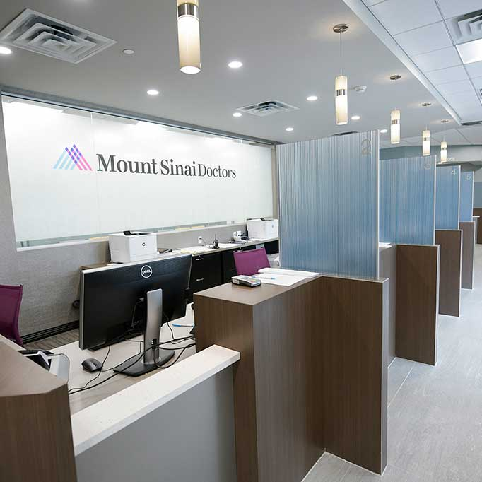 Mount Sinai Doctors Reception