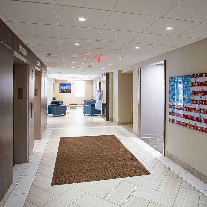Prospect Plaza Interior