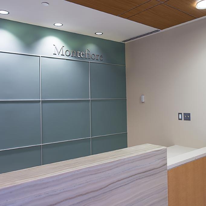 Montefiore Ambulatory Care Center Reception Area