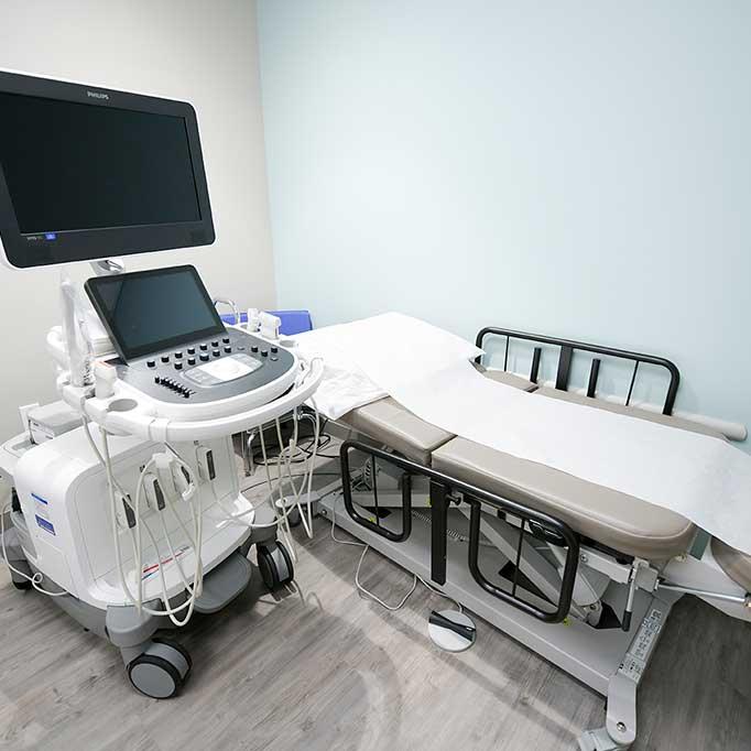 Mount Sinai Doctors Patient Room